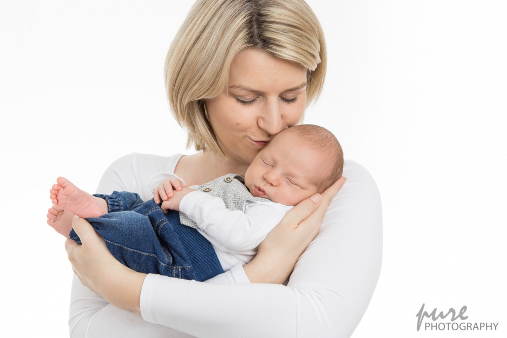 Babyfoto mit Mama, Elternfoto, Baby Fotoshooting Graz