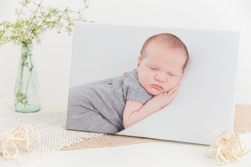 Babyshooting Graz, Leinwand, Baby auf Leinwand, Fotoshooting Baby, Produktfoto